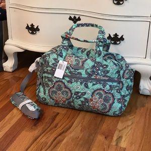 Vera Bradley Compact Traveler Bag